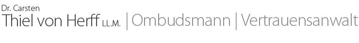 Ombudsmann | Vertrauensanwalt